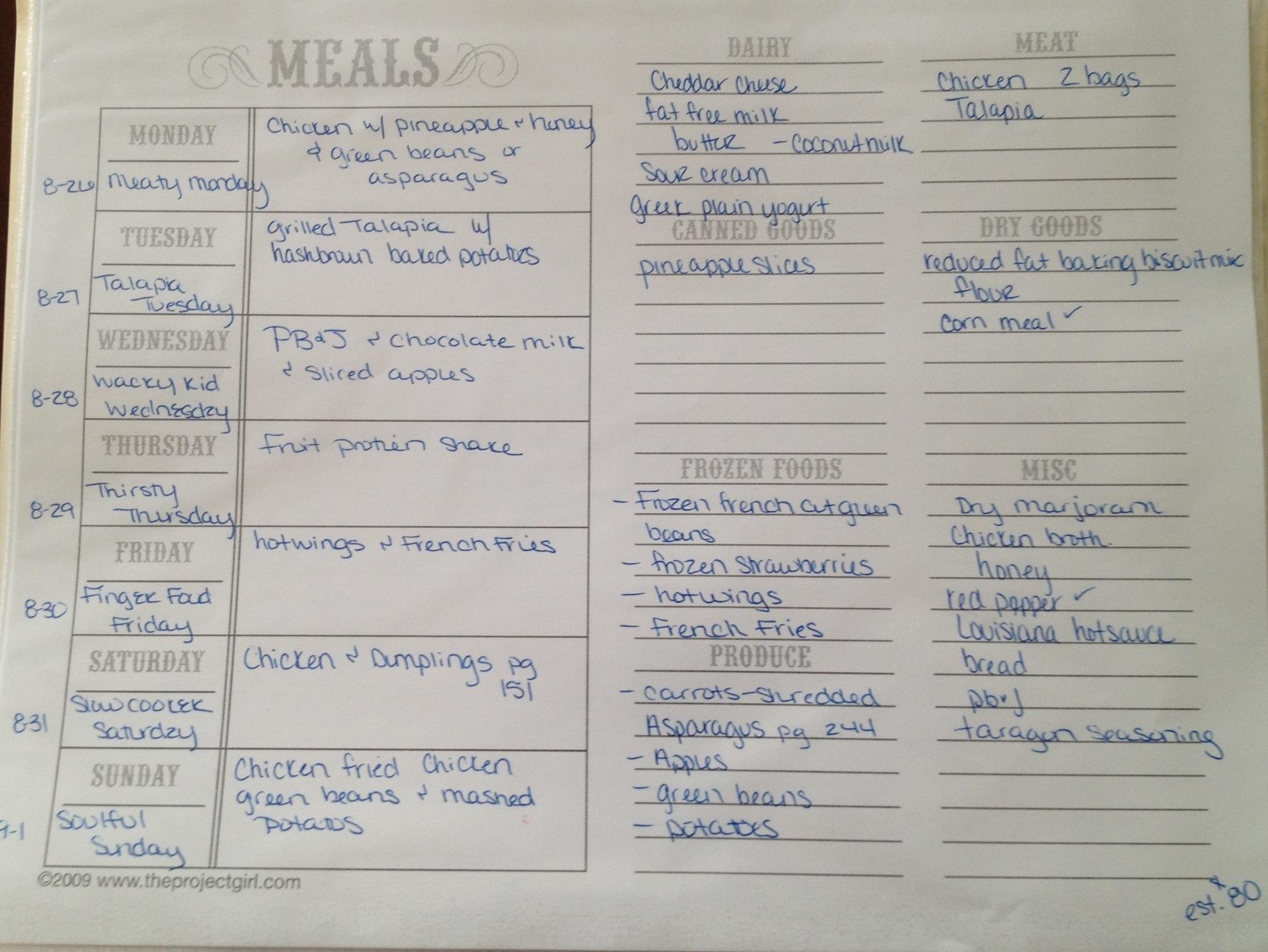 92 Dinner Recipes List